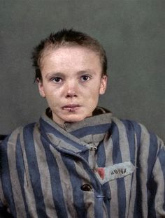 Marina Amaral is a digital artist who specialises in colourizing historical photos using tools in Photoshop. Her portfolio features stunning restored images of Albert Einstein, Abraham Lincoln and Martin Luther King Jr.  But perhaps the most haunting and distressing photos in her impressive body of work are of Czesława Kwoka, a 14-year-old prisoner who was in Auschwitz. Czesława was one of the thousands of children who were sent to Auschwitz during the 1940s.