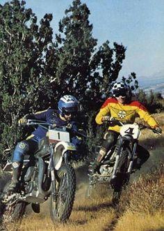 Off Road Moto, Vintage Motocross, Dirtbikes, Best Memories, Cross Country, Offroad, Husky, Racing, Motorcycle