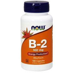 Now Foods B-2, 100 Caps 100 mg