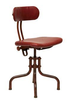 1950's Factory Desk Chair in Original Condition