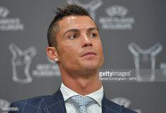 News Photo : Best Player in Europe Award winner Christiano...