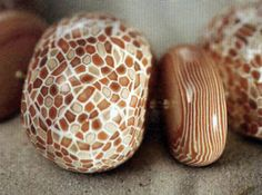 Бусы Мозаика из полимерной глины