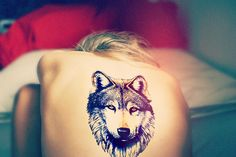 Wolf Tattoo, would never get this myself, but it's an amazing tattoo