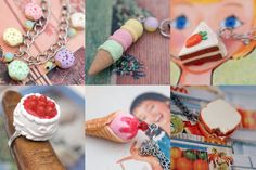 handmade things | More yummy looking handmade jewelry and accessories made from polymer ...