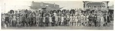 1922 Bathing Girl Review Contestants Galveston, Texas
