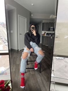 1 out of 1 sock companies that were surveyed strongly recommended taking at least one mirror pic a day. PC: @ceceliako Sock Company, Mirror Pic, Under Pants, Keep It Simple, Falling Down, Casual Looks, At Least, Socks, Legs