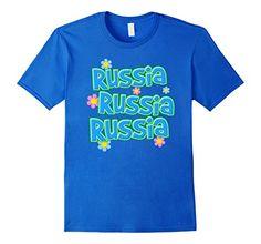 Russia, Russia, Russia T-Shirt - Whee! Design #donaldtrump #thecyber #russia #retro