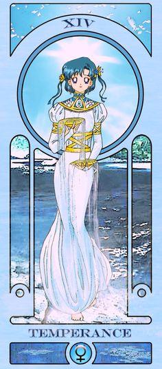Sailor Moon Tarod Cards: Temperance