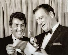 Dean Martin & John Wayne