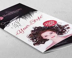 Image result for brochure promoting hair