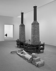 Mark Manders will be part of the Dutch Pavilion during La Biennale di Venezia Photo: Room with Chairs and Factory (2003-2008)