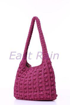 ganchillo crochet bolso bandolera bolso niña hecho a por EastRain