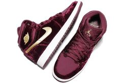 "SHOP: Nike Air Jordan 1 Retro High Premium Heiress ""Red Velvet""   kickbackzny.com"
