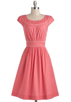 Day after Day Dress in Hearts, #ModCloth