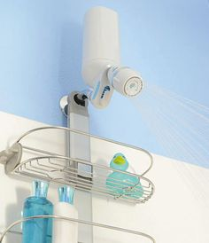 Shower Power | Purified water with Premium Shower Filter by Pelican Water