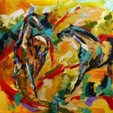 Resultado de imagen para horse painting abstract