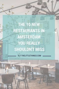 The 10 new restaurants and hotspots in Amsterdam you really shouldn't miss! With i.e. Frits, Wilde Zwijnen eetbar, Fucina, Hummbar, Morgan & Mees & Instock.