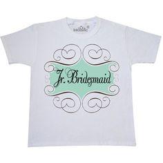 7ecddee86db Inktastic Jr Bridesmaid Wedding Youth T-Shirt Junior Gift Bridal Party Idea  Cute  weddingideas