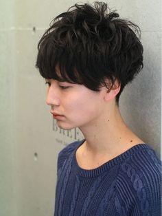 Hairsalon BREEN Tokyo ヘアサロン ブリーン トウキョウ[BREEN原宿]無造作ショートマッシュパーマ