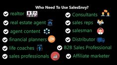 Christmas offer!! 14 day's free. ►► http://app.salesenvy.com/Register ➥ Who Need To Use SalesEnvy? ✓ realtor, ✓ insurance agent, ✓ real estate agent, ✓ agent content, ✓ financial planners, ✓ life coaches,  ✓ Consultants, ✓ sales professionals, ✓ sales reps, ✓ salesman, ✓ Affliate marketer,  ✓ B2B Sales Professional,✓ Distributor  ►► http://app.salesenvy.com/Register