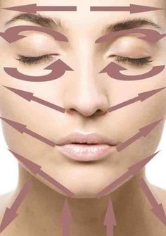 Massage Face Lines Although dry skin can influence younger people, it is more troublesome as you age. The best facial cream for dry skin in fact helps delay the indication of aging. Self Massage, Face Massage, Beauty Secrets, Beauty Hacks, Beauty Tutorials, How To Massage Yourself, Diy Beauté, Facial Yoga, Facial Exercises