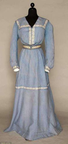 Seaside Dress 1890s Augusta Auctions