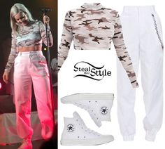 Anne-Marie Clothes & Outfits | Steal Her Style Stage Outfits, Dress Outfits, Dresses, Celebrity Outfits, Celebrity Style, Anne Maria, New Fashion, Womens Fashion, Funky Outfits