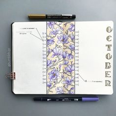 """2,157 Likes, 139 Comments - K (@bumblebujo) on Instagram: """"Being such a busy month for me, I decided on a more simple #monthlyspread. Using this type of…"""""""