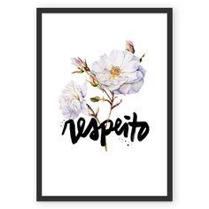 Compre Respeito de @abraco em posters de alta qualidade. Incentive artistas independentes, encontre produtos exclusivos.