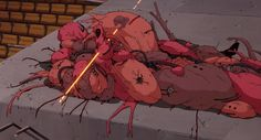 From the Akira illustration and animation archive