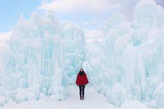Ice castle (New Hamp