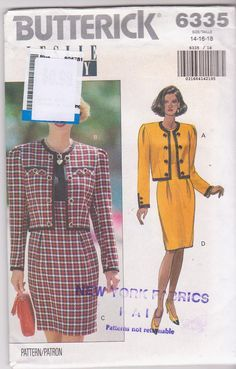 Suits were big for Mom in the 1980s.