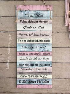 Holz Deko Schild Dekoschild Shabby Vintage Geschenk LOVE /& CAT 20 x 30 cm