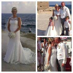 Stunning bride Nicola