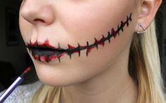 für die Blutspuren falsches Blut nutzen