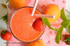 Strawberry apricot smoothie http://www.momsfitnessheaven.com/strawberry-apricot-smoothie/ #smoothie   #apricot   #slim   #delicious   #fit  #fitness   #recipe   #detox   #healthy   #breakfast  #boost   #mint   #weightloss   #moms   #yummy  #autumn