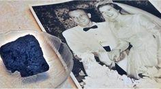 Rayakan Anniversary, Pasangan ini Makan Kue Berusia 61 tahun - http://wp.me/p70qx9-5Ap