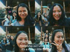True friend is like a star😆