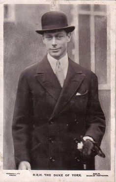 H.R.H. Albert, the Duke of York Later, King George VI