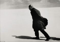 Jean  Paul Sartre  by  Henri  Cartier  Bresson