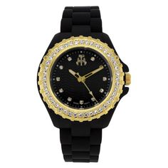 Jivago - Ladies' Cherie Watch in Black and Gold