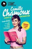 Camille Chamoux dans L'esprit de contradiction - Théâtre du Petit Saint Martin