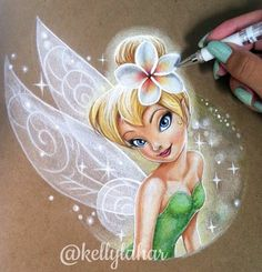 Colored pencil. By Kelly Lahar Peter Pan