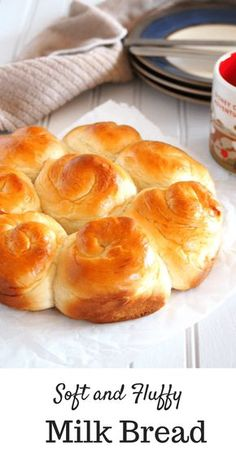 This Milk Bread is a delight! It is a simple recipe for a bread dough that yield… This Milk Bread is a delight! It is a simple recipe for a bread dough that yields soft and slightly sweet bread that is perfect on its own or with a pat of butter. Bread Machine Recipes, Easy Bread Recipes, Baking Recipes, Simple Recipes, Recipe For Milk Bread, Recipes With Milk, Simple Sweet Bread Recipe, Amish Sweet Bread Recipe, Fluffy Bread Recipe