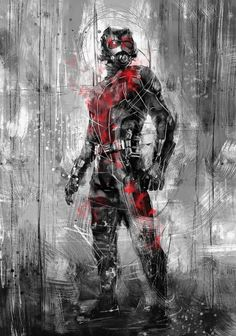 Ant-Man by Wisesnail https://society6.com/product/ant-man-pm8_print?curator=acastro