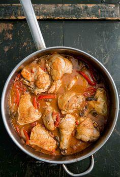 Chicken Cacciatore (