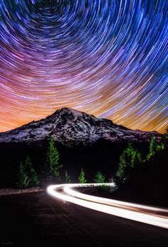 The Evening is Alive by Derek Kind - Mount Rainier National Park, Washington