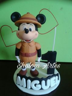 Mickey Safari biscuit