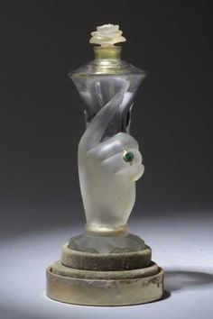 "Lot: 251: ""It's You,"" a BACCARAT perfume bottle fo, Lot Number: 0251, Starting Bid: $500, Auctioneer: Rago Modern Auctions, LLP, Auction: Lalique and Perfume Presentations Auction, Date: November 1st, 2003 PST"
