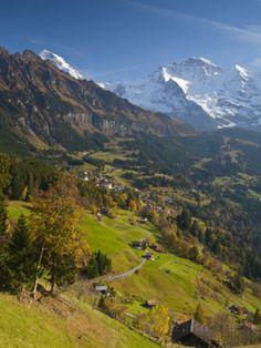 Berner Oberland Wengen & Lauterbrunnen Doug Pearson